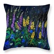 Garden Flowers 679080 Throw Pillow