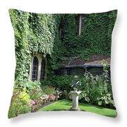 Garden Globe Throw Pillow