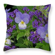 Garden Harmony 2 Throw Pillow