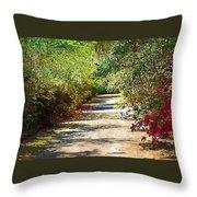 Garden Hideaway Throw Pillow