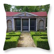 Garden House Throw Pillow