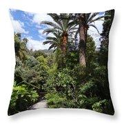 Garden In Menton Throw Pillow