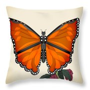 Garden Jewelry Throw Pillow