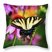 Garden Jewelry Throw Pillow