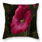 Garden Mayflower Throw Pillow