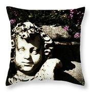 Garden Nymph Throw Pillow