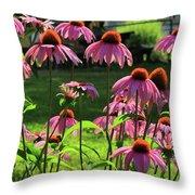 Garden Of Cones Throw Pillow