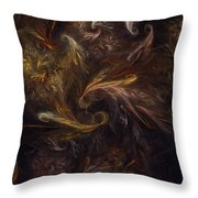 Garden Of Earthly Delight  Throw Pillow