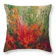 Garden Of Memories 3 Throw Pillow