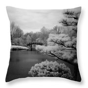 Garden Of Pure Clear Harmony Throw Pillow