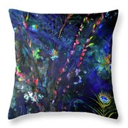 Garden Of The Deep Throw Pillow