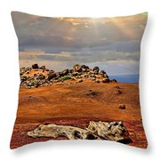 Garden Of The Gods Lanai Throw Pillow