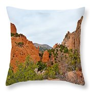 Garden Of The Gods Study 6 Throw Pillow