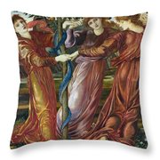 Garden Of The Hesperides Throw Pillow