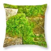 Garden Of The Simple Throw Pillow