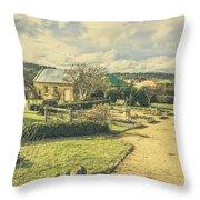 Garden Paths And Courtyards Throw Pillow