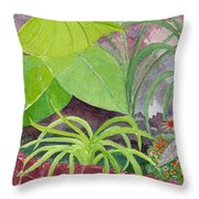 Garden Scene 9-21-10 Throw Pillow