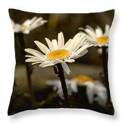 Garden Smiles Throw Pillow