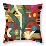 Garden Surprise Throw Pillow