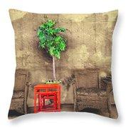Garden View Series 37 Throw Pillow