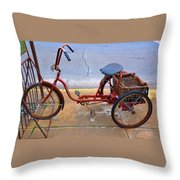 Gardener's Express Throw Pillow