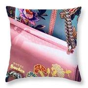 Gardenpurse Throw Pillow