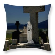 Gardians Of Souls Throw Pillow