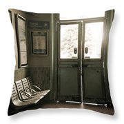 Gare Throw Pillow
