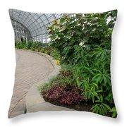 Garfield Park Conservatory Throw Pillow