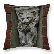 Garg Throw Pillow