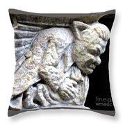 Gargoyle 4 Throw Pillow