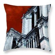 Gargoyle Pop Art Throw Pillow