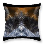 Gargoyle Priestess  Throw Pillow