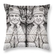 Gargoyles Of Lund Throw Pillow