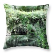 Garlands And Arches Throw Pillow