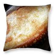 Garlic Bread Throw Pillow