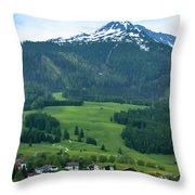 Garmisch-partenkirchen Germany Throw Pillow