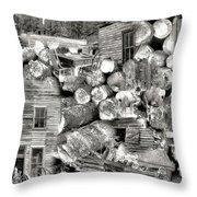 Garnet Montana Throw Pillow