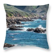 Garrapata State Park 2 Throw Pillow