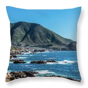Garrapata State Park 1 Throw Pillow