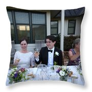 Garrett-346 Throw Pillow