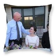 Garrett-349 Throw Pillow