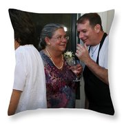 Garrett-357 Throw Pillow