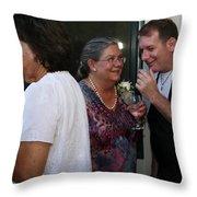 Garrett-361 Throw Pillow