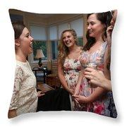Garrett-365 Throw Pillow