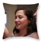 Garrett-368 Throw Pillow