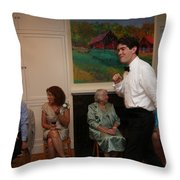 Garrett-371 Throw Pillow