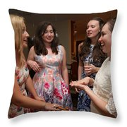 Garrett-373 Throw Pillow