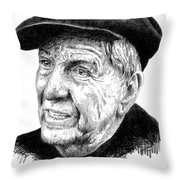 Garry Marshall Throw Pillow