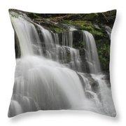 Garwin Falls Upper Cascade Throw Pillow